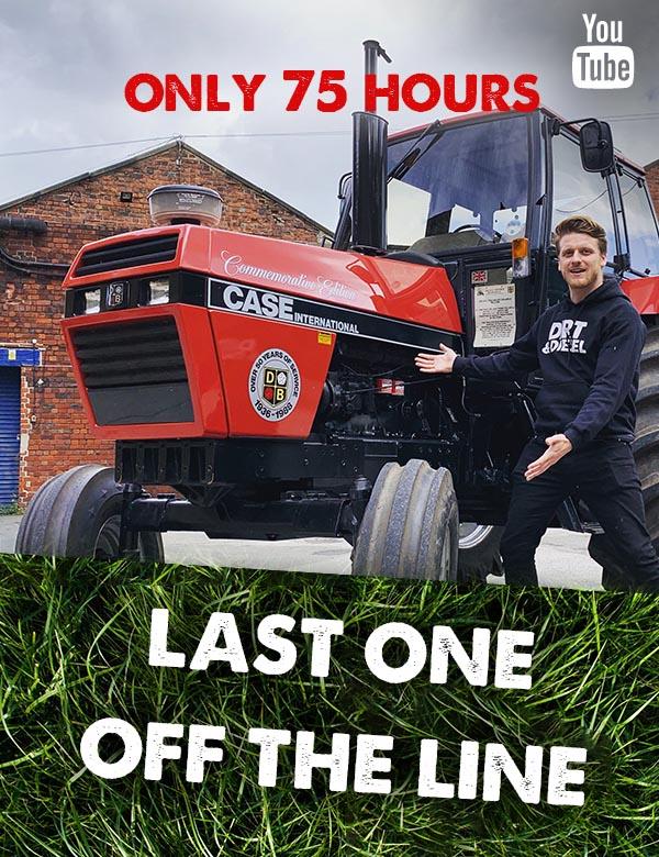 David Brown 1594 Case IH tractor