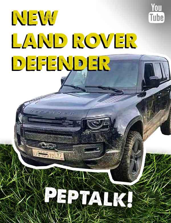 New Land Rover Defender peptalk