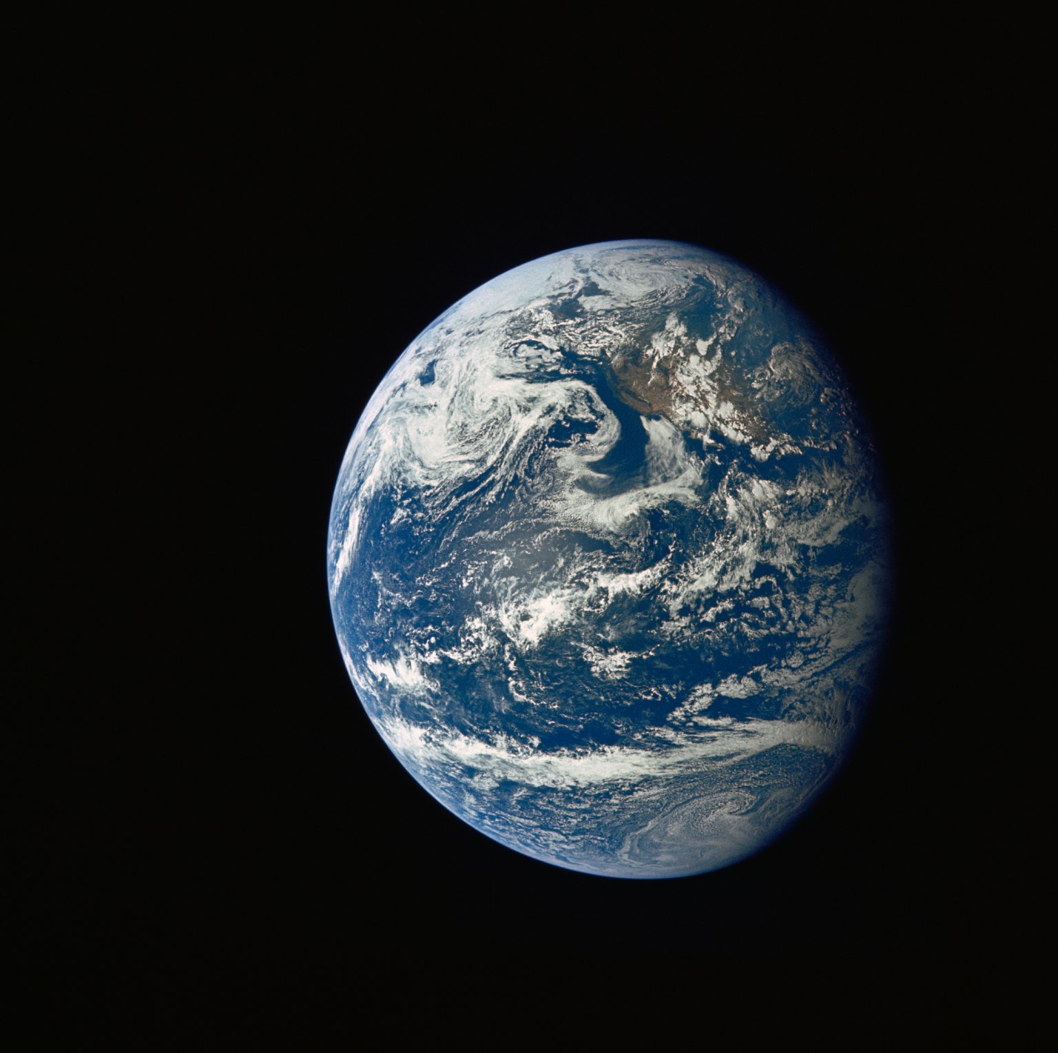 Image of Earth from space - NASA/Flicr