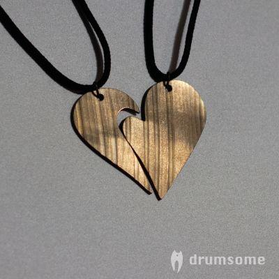 Partner Halskette für Schlagzeuger ihre Partner