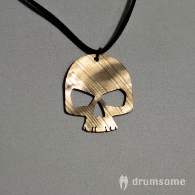 Skull cymbalnecklace