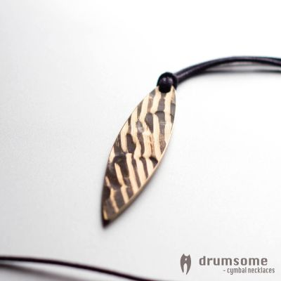 Cymbal necklace Surfo by drumsome