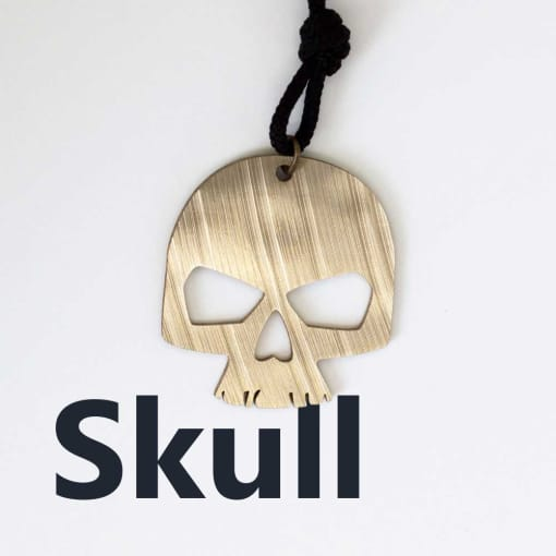 Skull Necklace from our Drum Jewelry collection