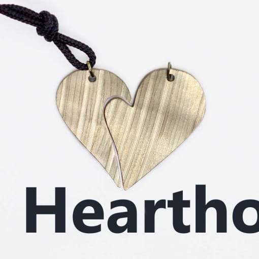 Drum Jewelry Heartho