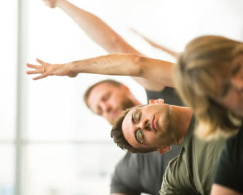 On-site yoga classes and meditation