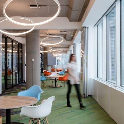 Open concept workspaces