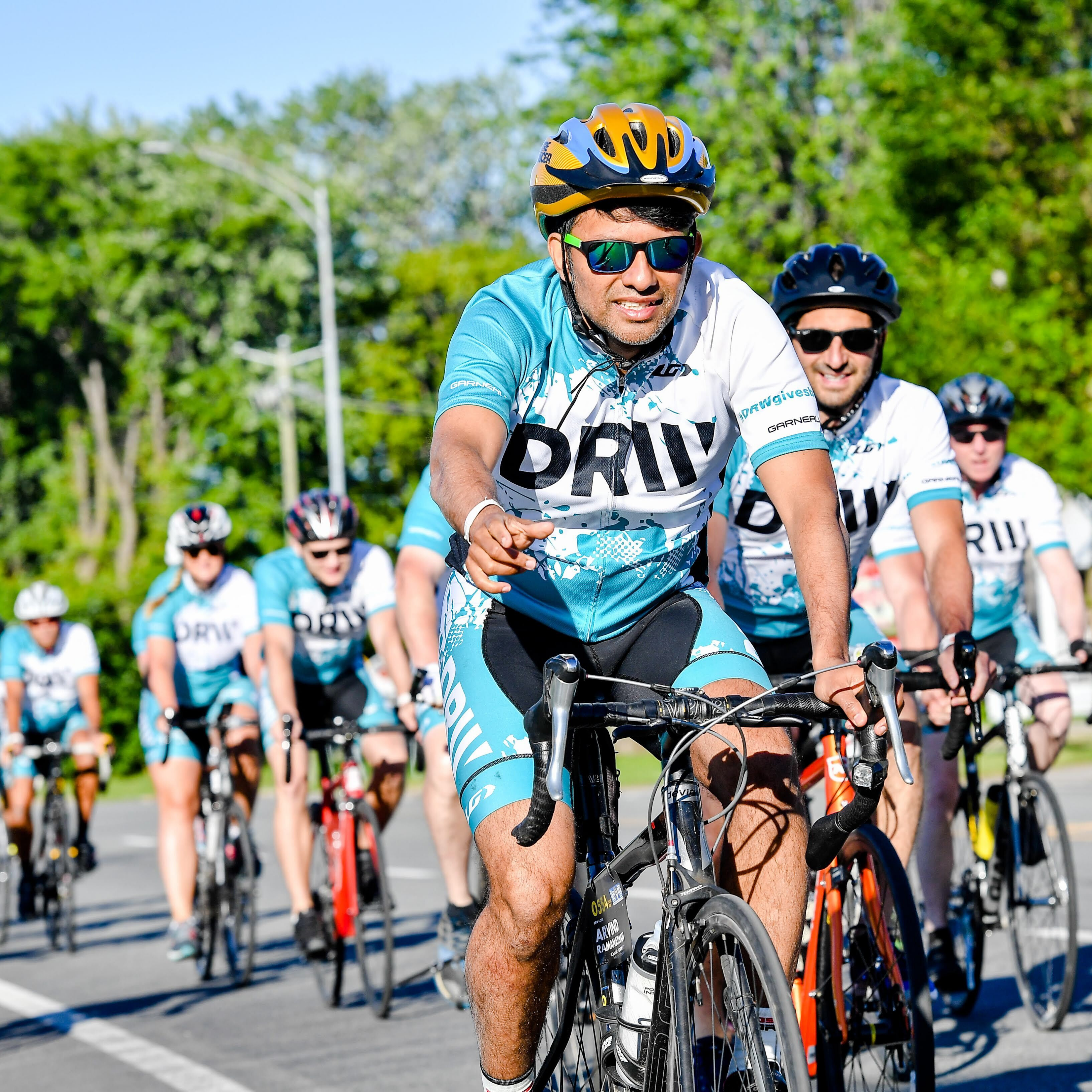 Participating in Ride to Conquer Cancer