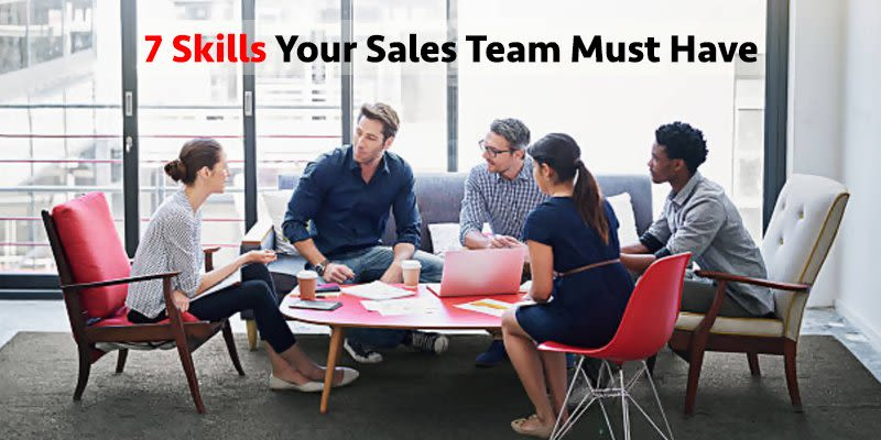 skills your sales team must have