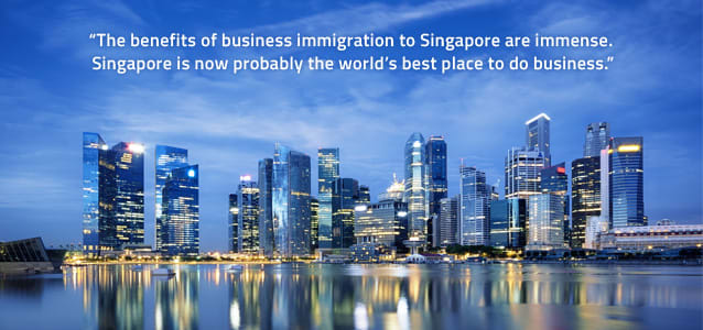 benefits of business immigration to Singapore
