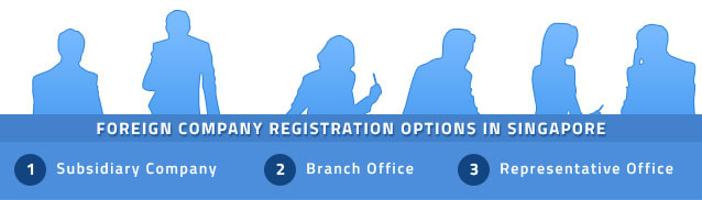 foreign registration options in Singapore
