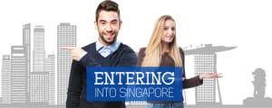 entering into singapore