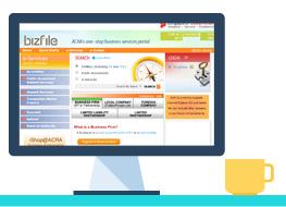 bizfile ACRA: Singapore Registrar of Companies (ROC)