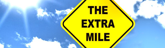 go the extra mile with your customers