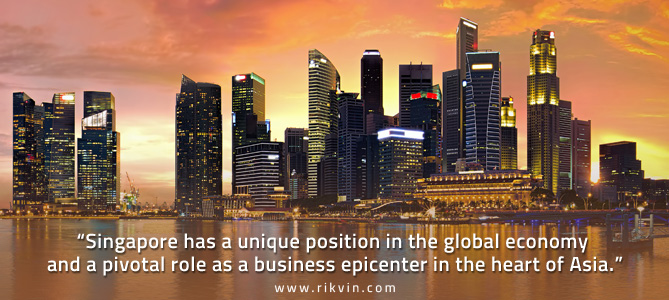 Why Singapore is preferred by foreign firms