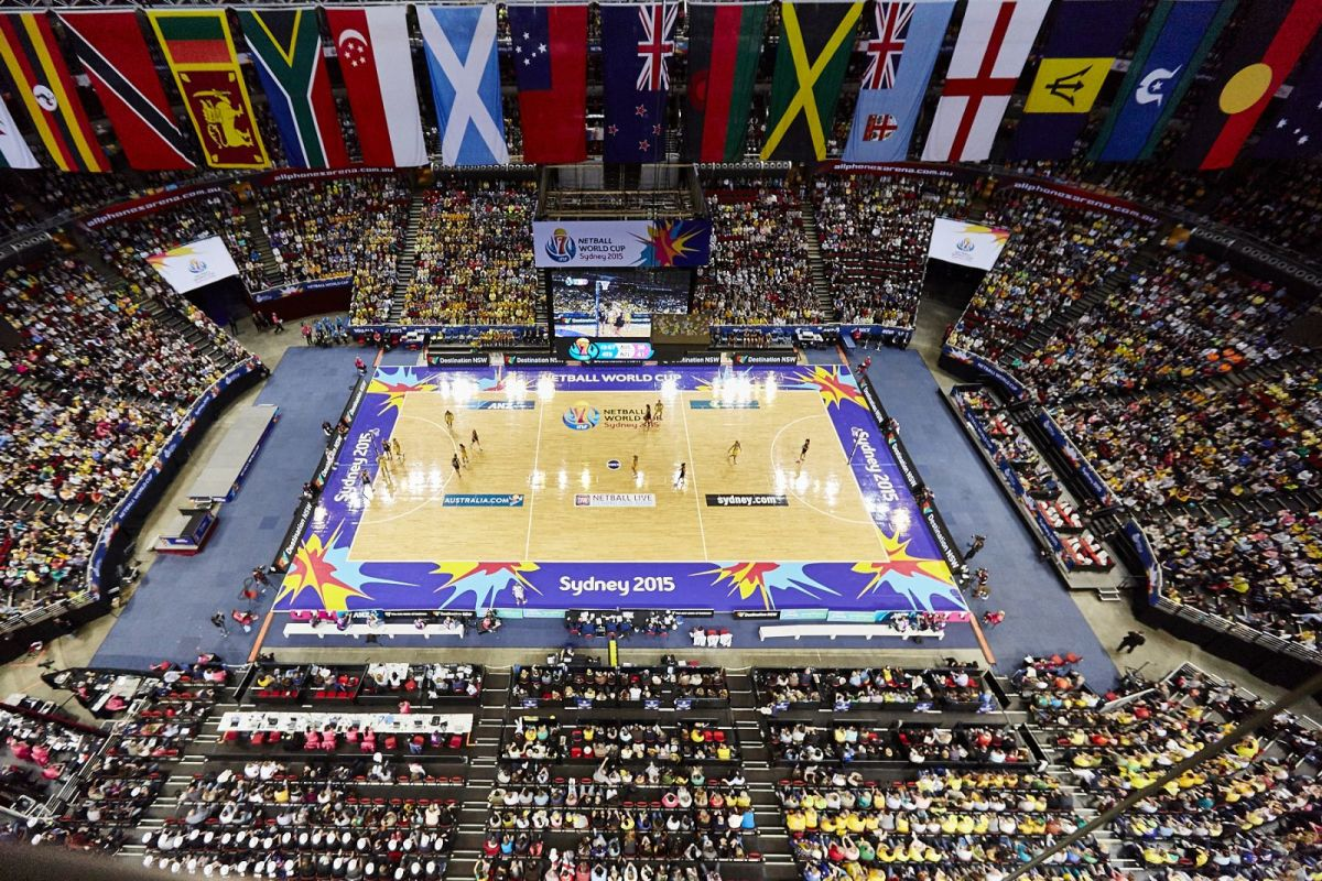 Netball World Cup 2015, Sydney Olympic Park NSW
