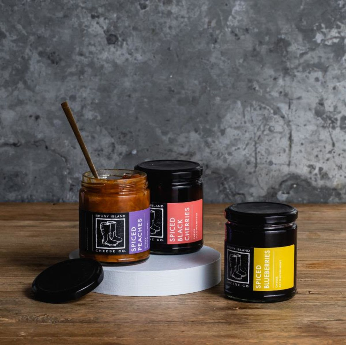 Bruny Island Cheese Co Spiced Fruits Trio