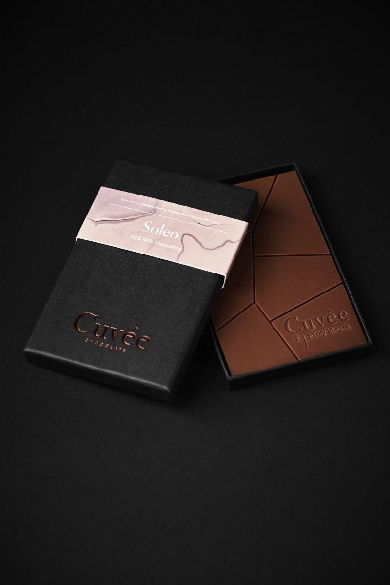 Cuvée Chocolate - Soleo 42% Milk Chocolate