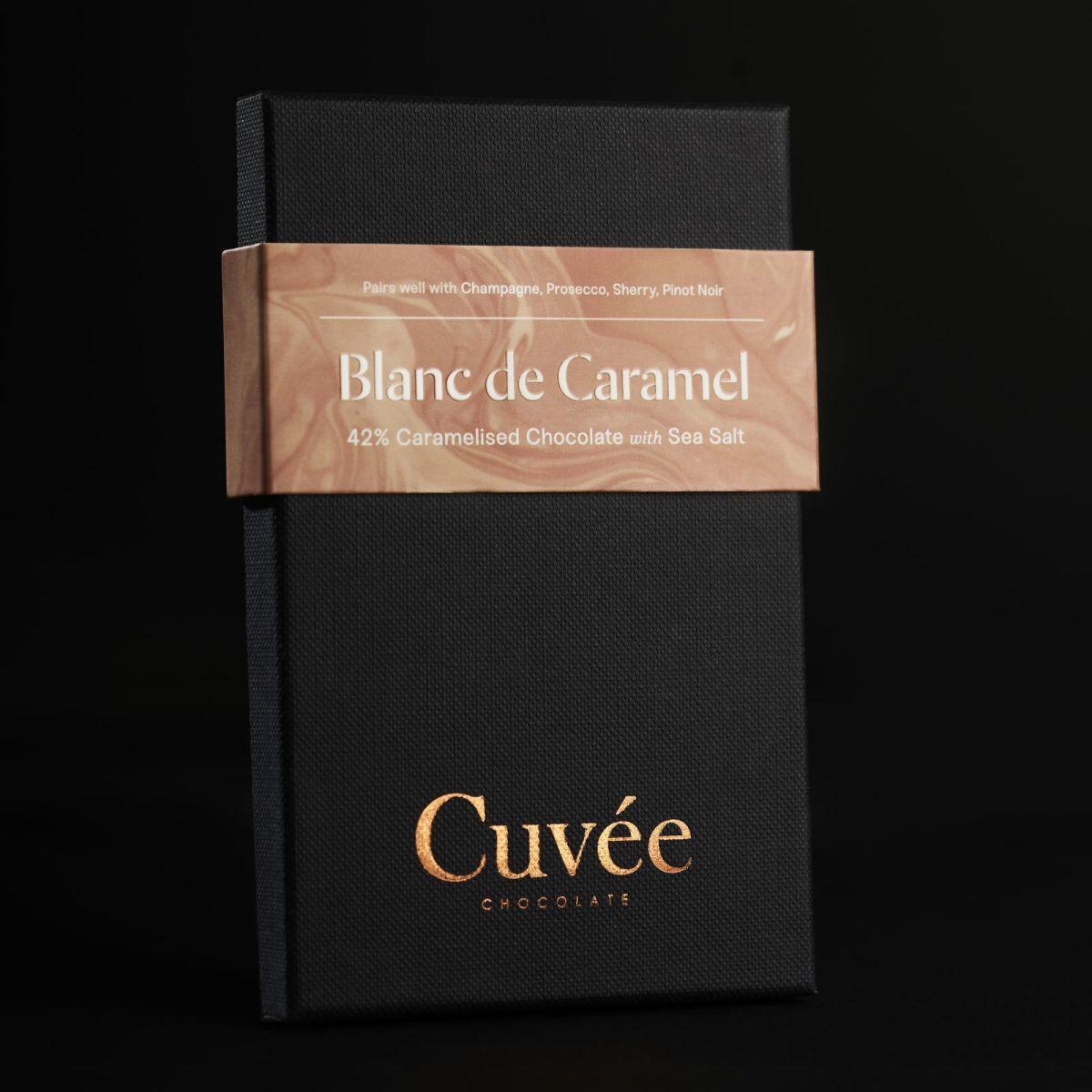 Cuvée Chocolate - Blanc de Caramel 42% Caramel Choc.