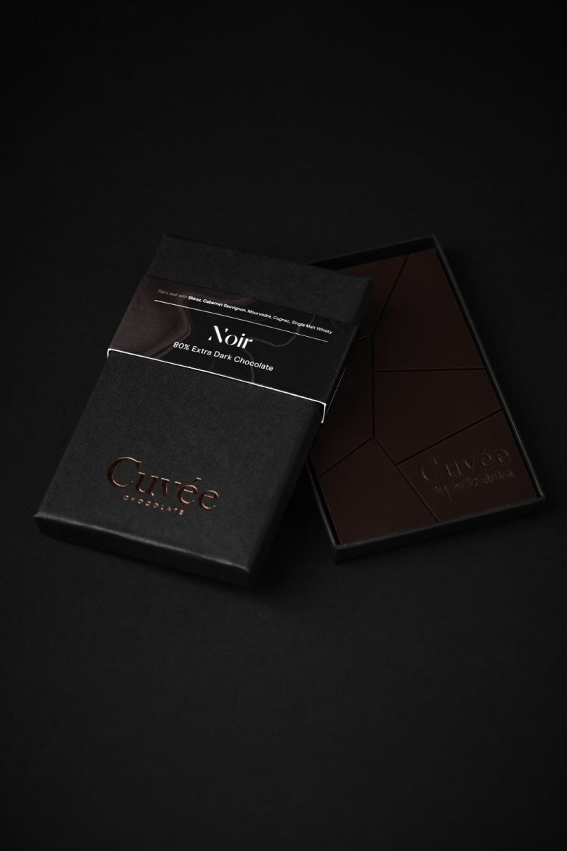Cuvée Chocolate - Noir 80% Extra Dark Chocolate