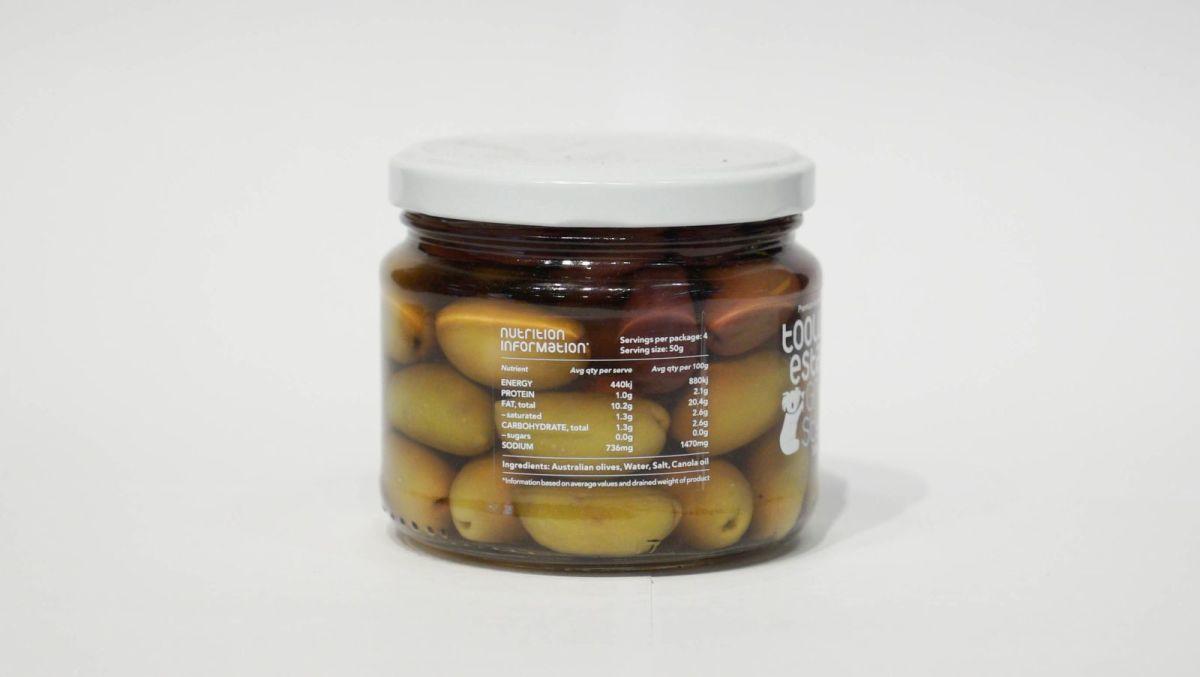 Toolunka Creek Olives - Greek Style