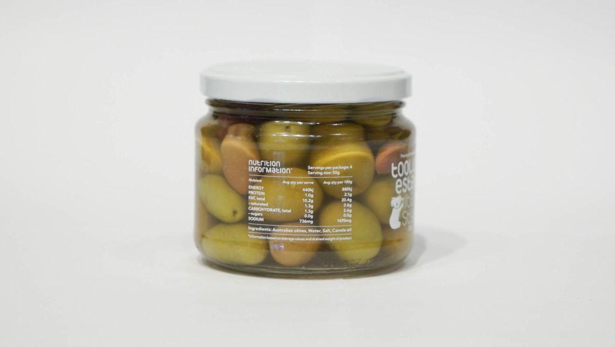 Toolunka Creek Olives - Spanish Style