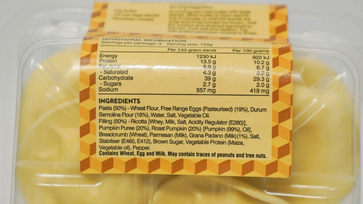 Per Tutti Pasta - Pumpkin and Parmesan Agnolotti