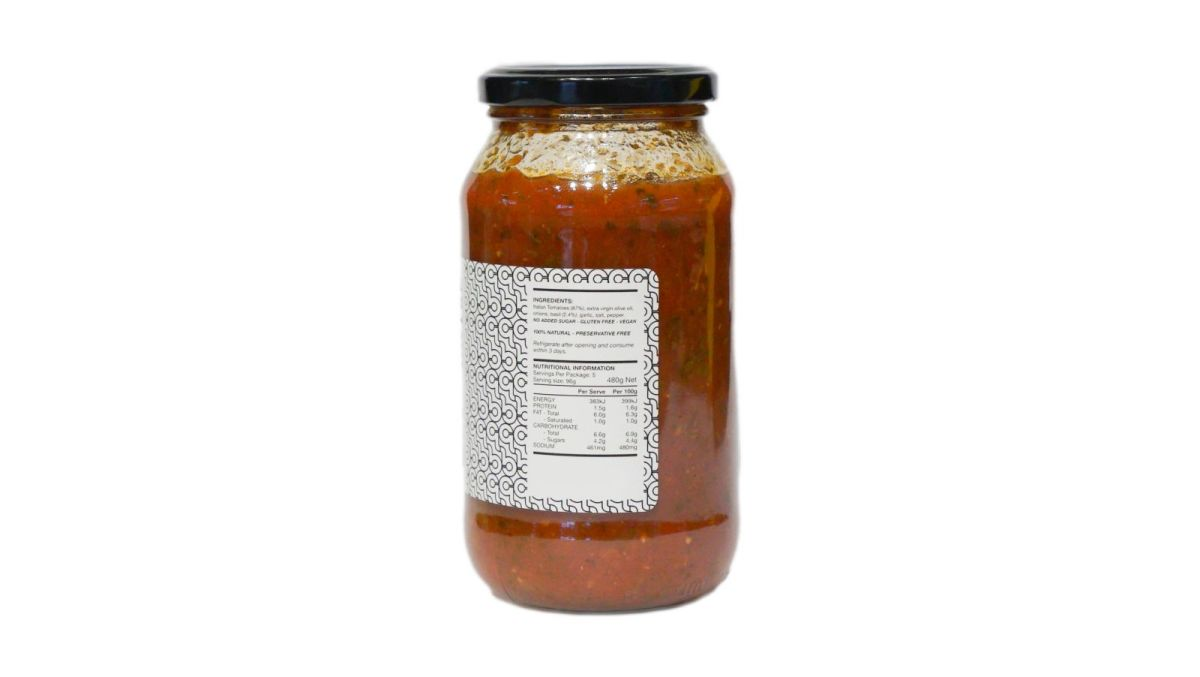 Chef Luca Ciano - Fresh Basil Sugo – Pasta Sauce