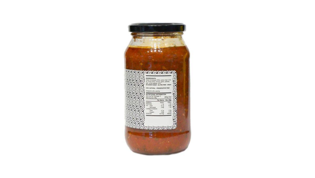 Chef Luca Ciano - Marinara Pasta Sauce