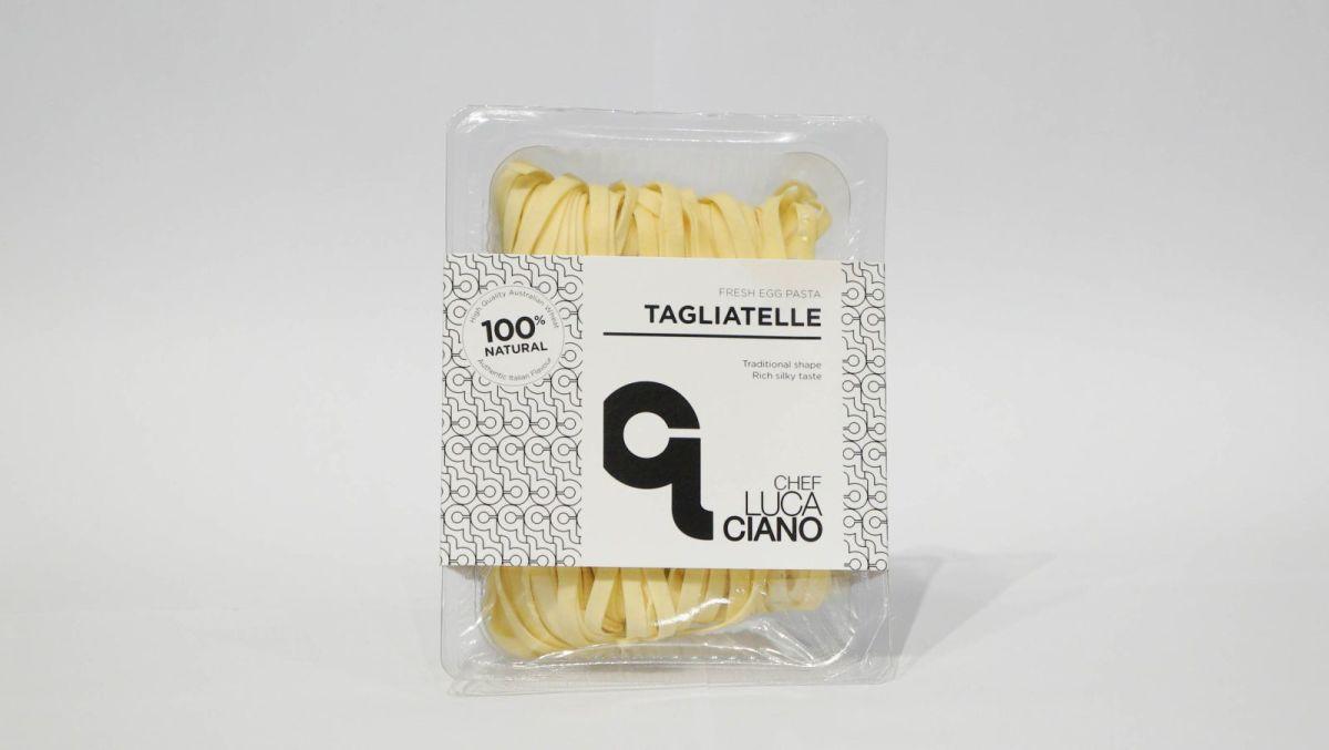 Chef Luca Ciano - Fresh Tagliatelle