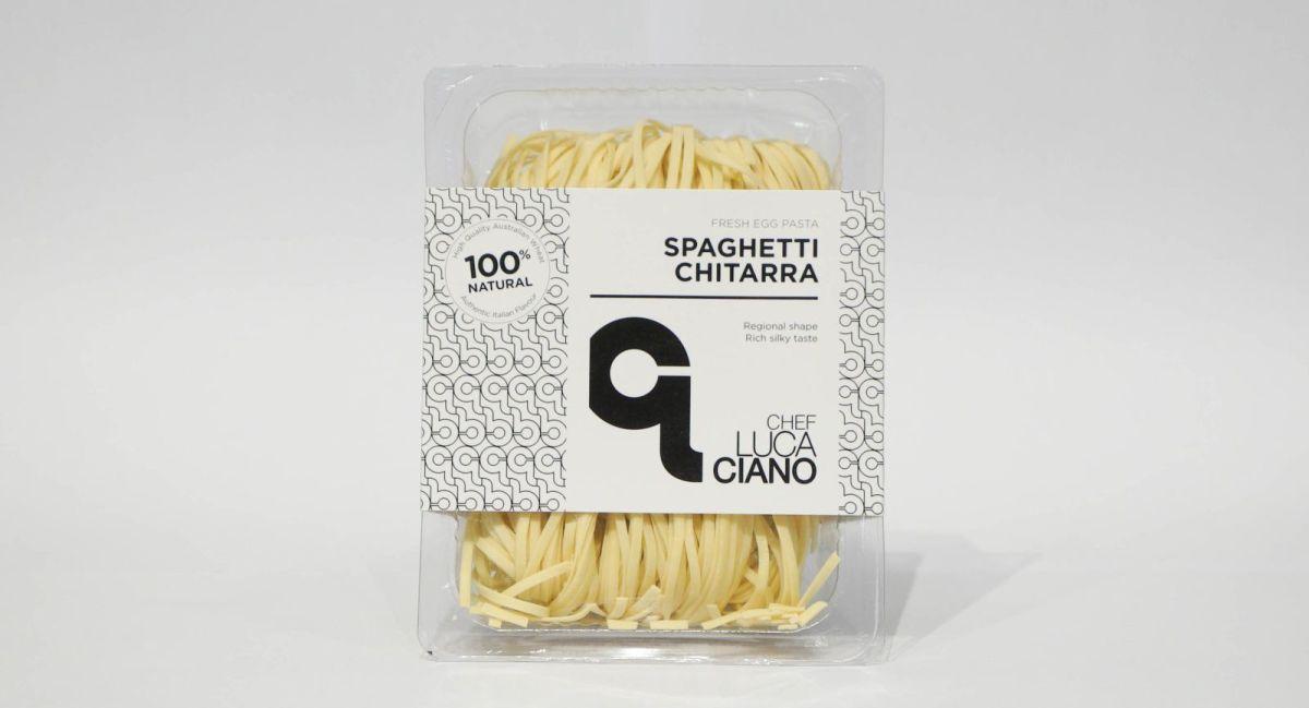 Chef Luca Ciano - Spaghetti Chitarra (Fresh Egg Pasta)