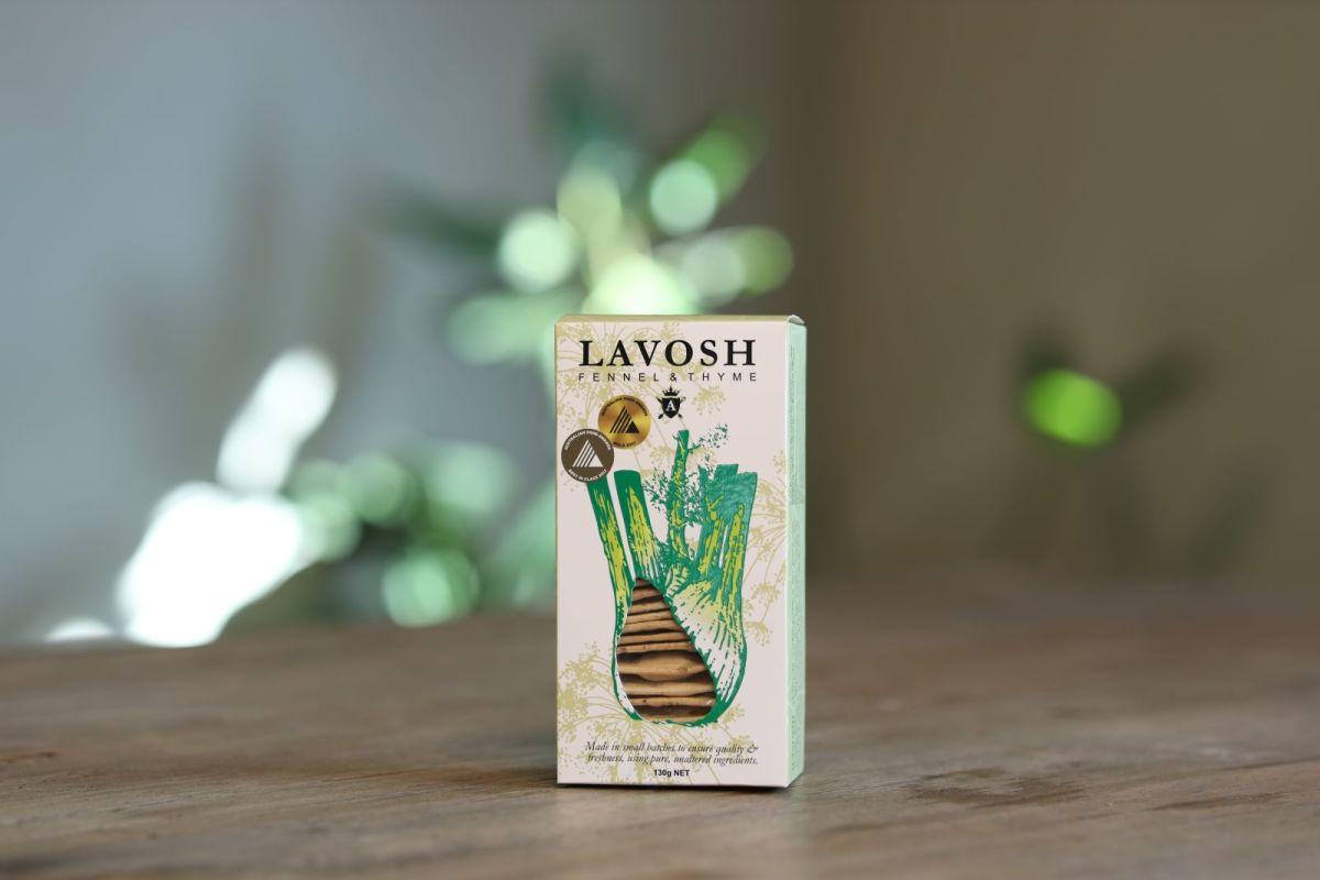 Asterisk Kitchen - Lavosh Crackers – Fennel & Thyme