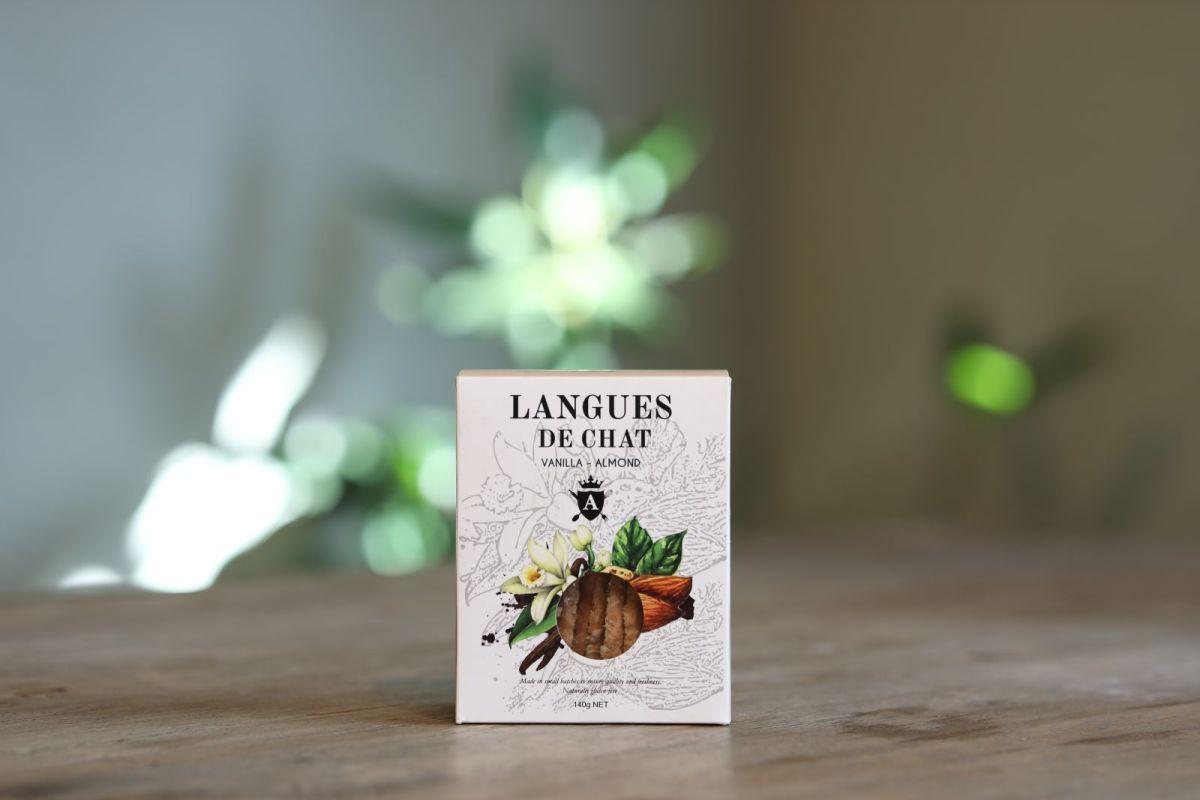 Asterisk Kitchen - Langues de Chat - Vanilla & Almond