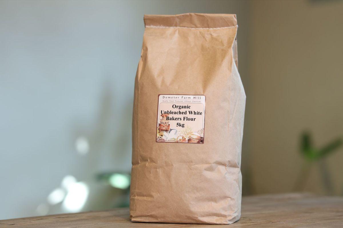 Demeter Farm Mill - Organic Unbleached White Bakers Flour