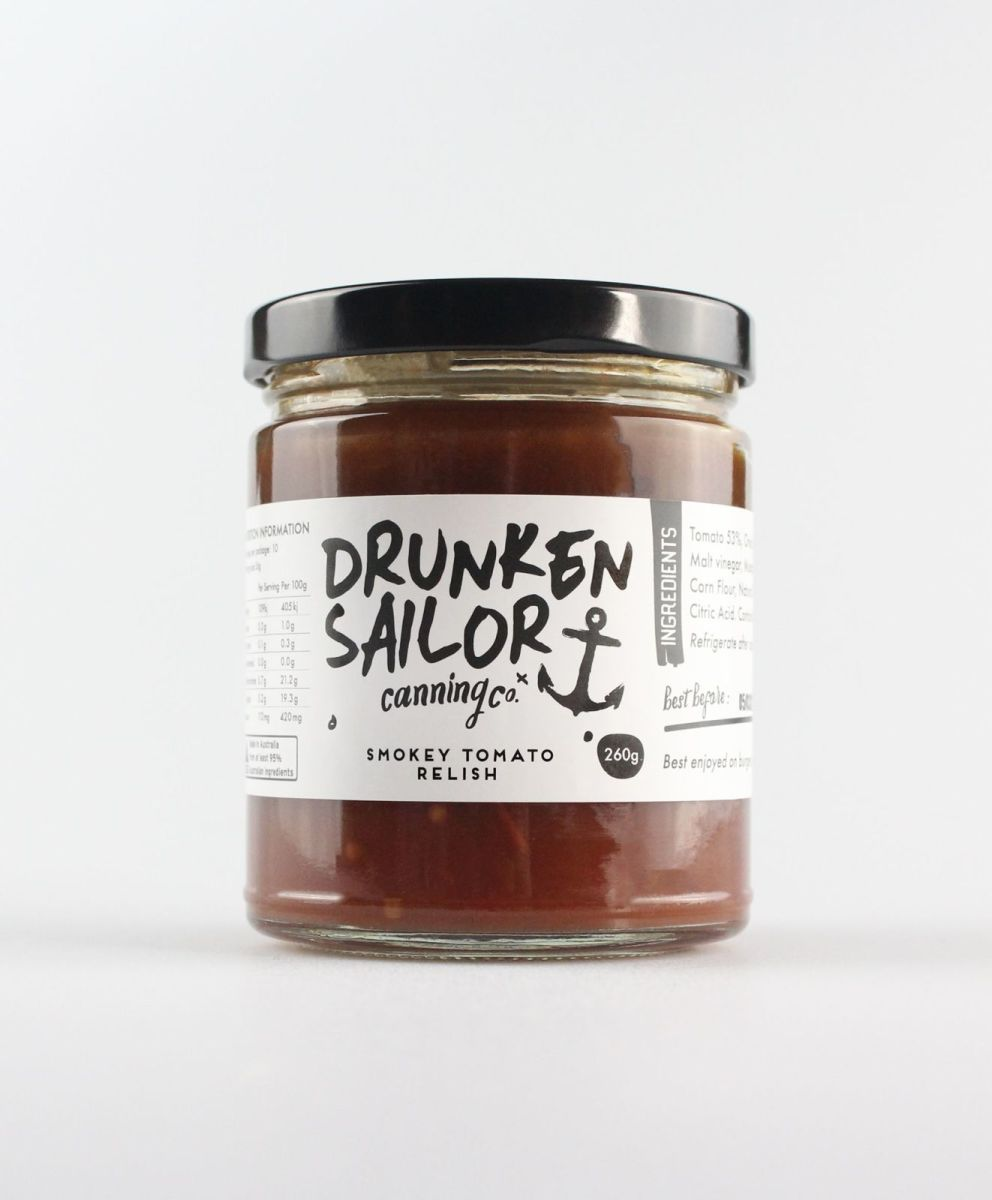 Drunken Sailor - Smokey Tomato Relish