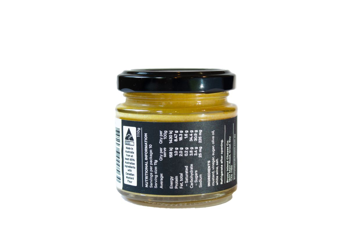 Bruny Island Cheese Co. Dijon Mustard