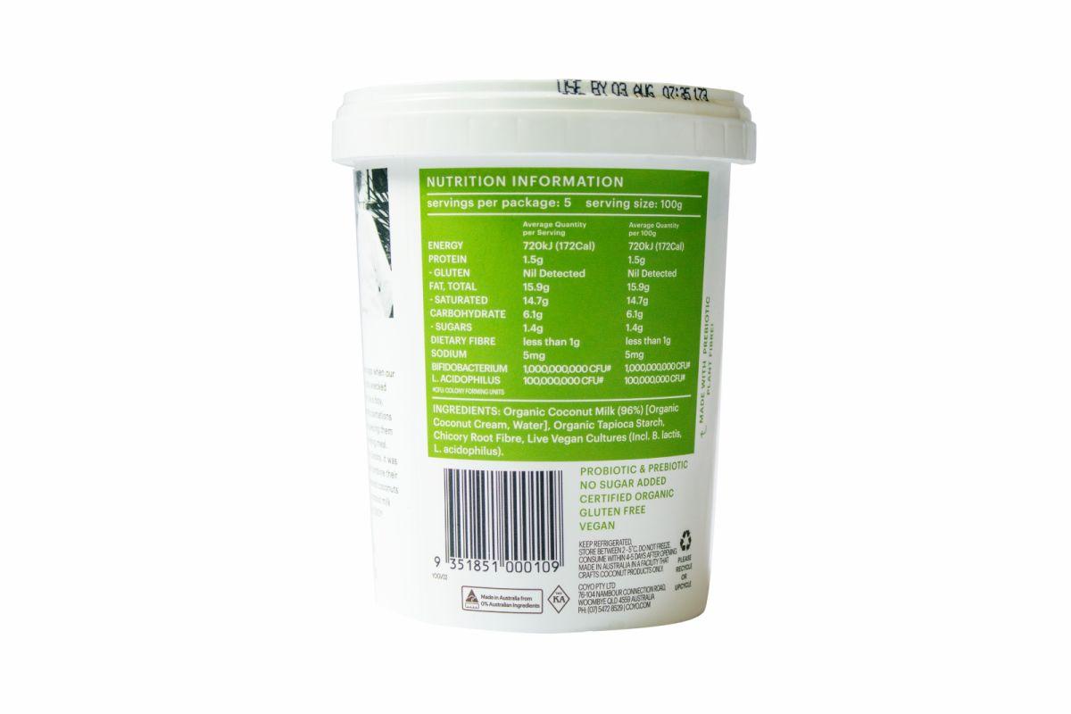 Coyo Yoghurt – Natural Organic