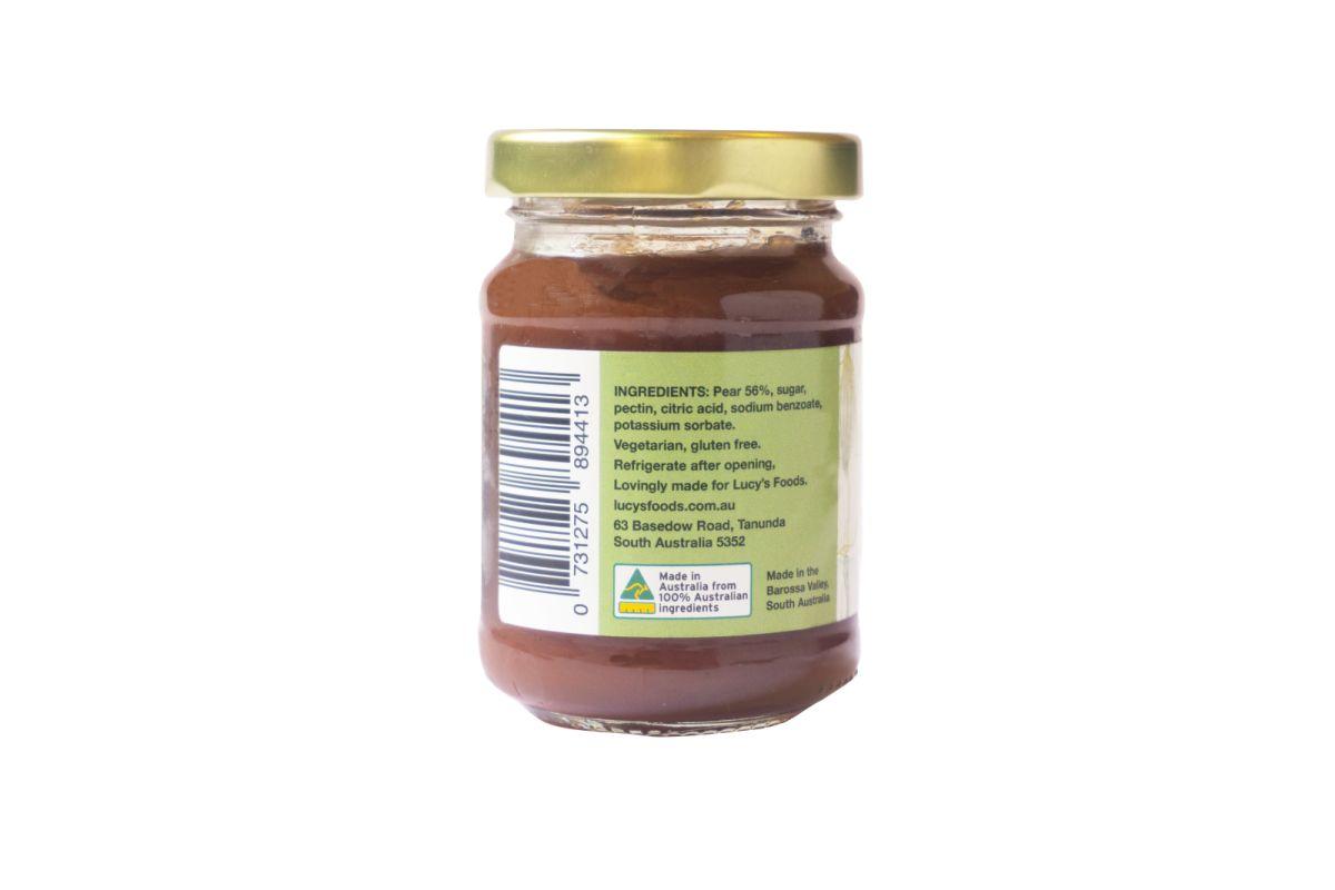 Lucy's Foods - Australian Pear Paste