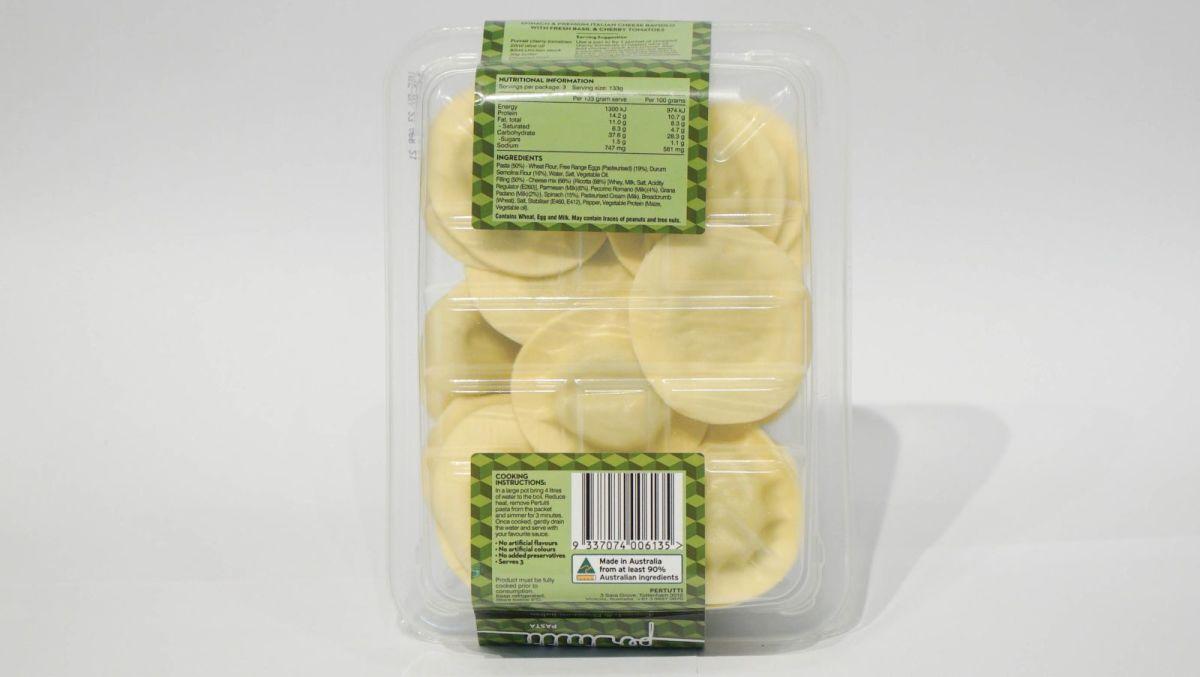 Per Tutti Pasta - Spinach & Cheese Ravioli