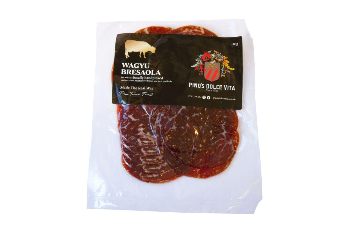 Pino's Dolce Vita Fine Food - Beef Bresaola Wagyu