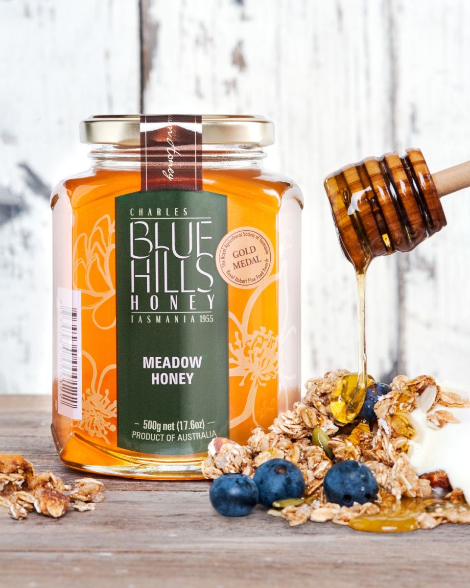 Blue Hills Honey - Premium Tasmanian Meadow Honey
