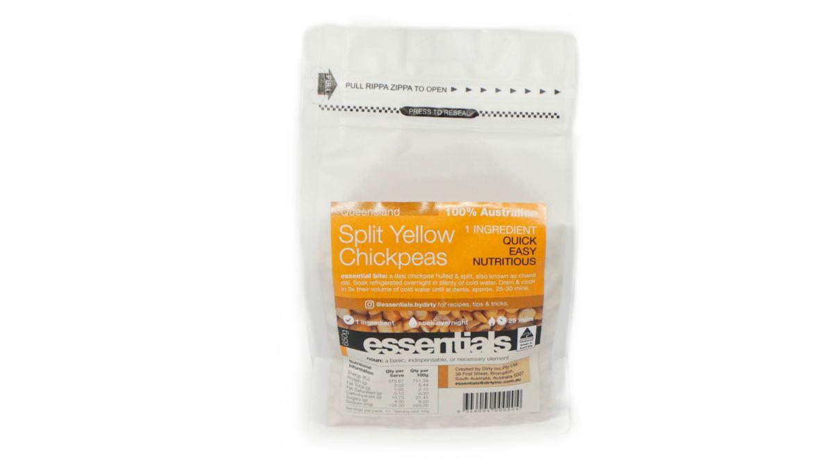 Dirt Inc - Split Yellow Chickpeas