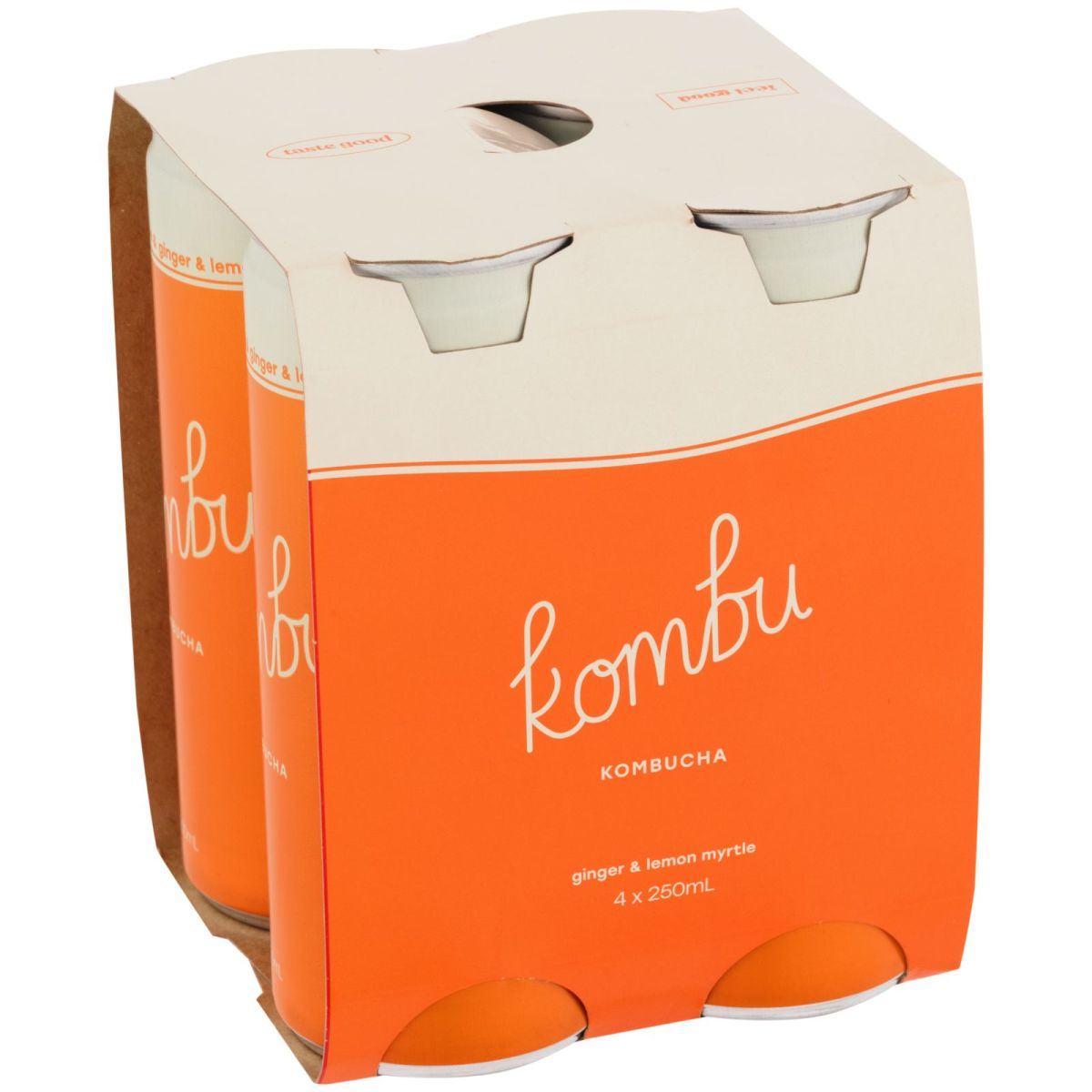 Kombu Kombucha - Ginger & Lemon Myrtle Kombucha