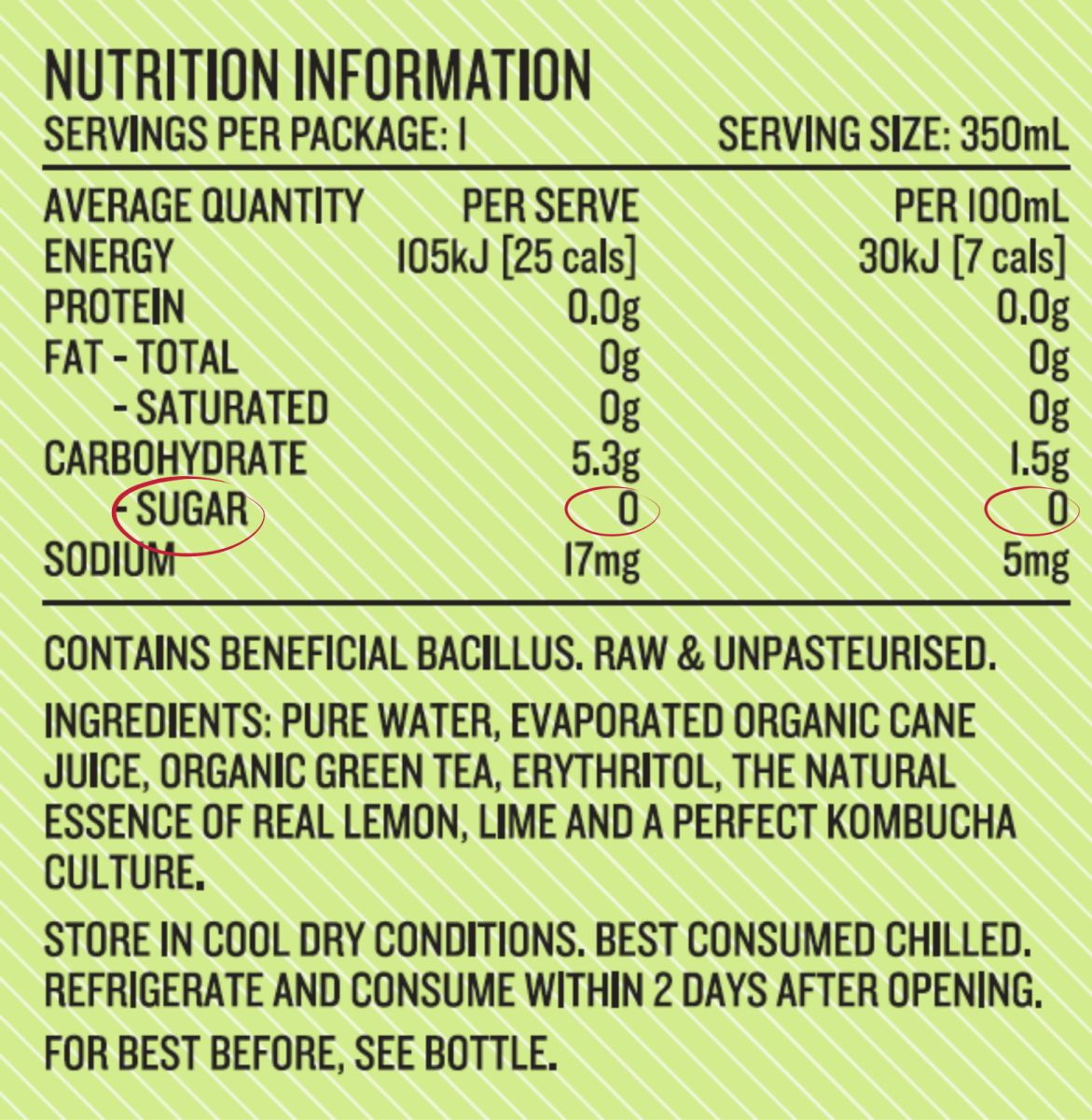 Utonic - Lemon & Lime