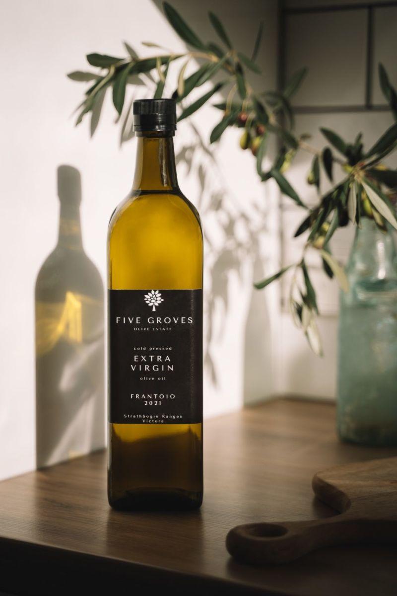 Five Groves Olive Oil - Extra Virgin Olive Oil Frantoio 2021 - 500 mL