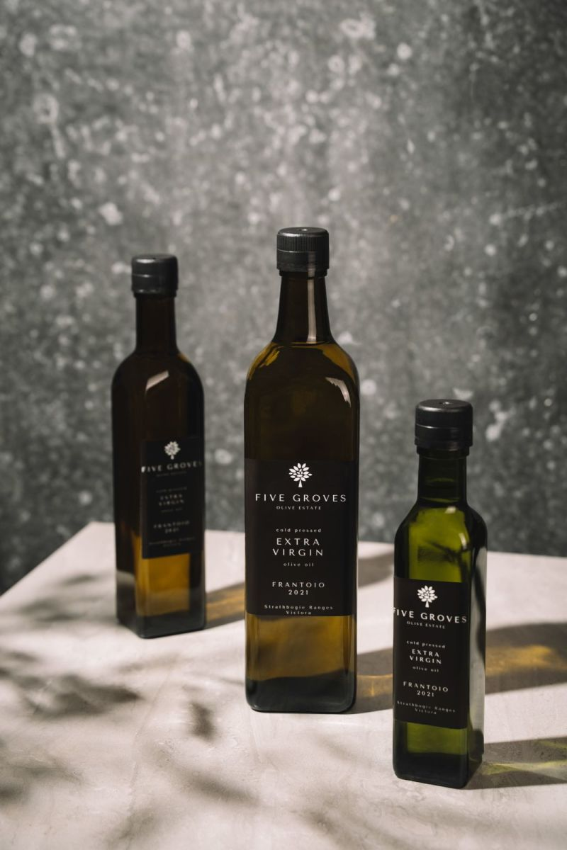 Five Groves Olive Oil - Extra Virgin Olive Oil Frantoio 2021 - 250 mL