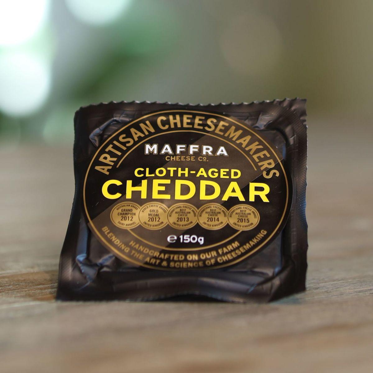 Maffra Cheese Co. - Cloth-Aged Cheddar