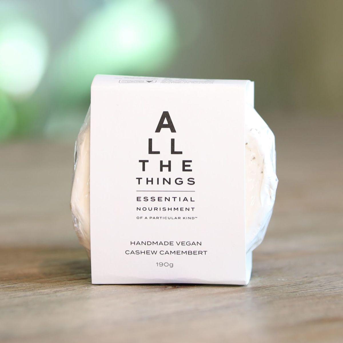All The Things - Vegan Cashew Camembert