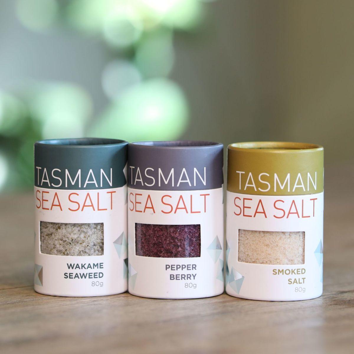 Tasman Sea Salt – 3 Pack Gift Set