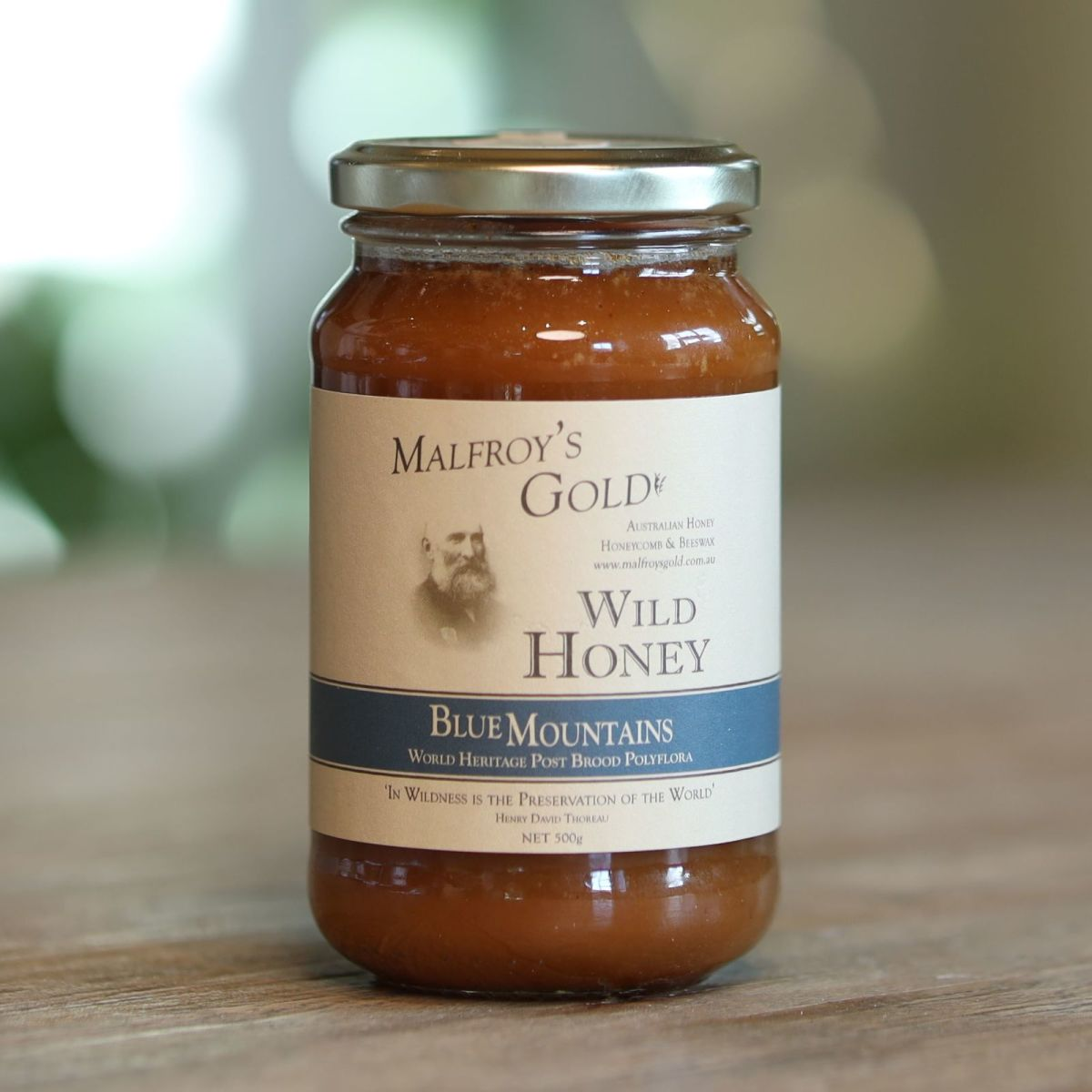Malfroy's Gold - Blue Mountains World Heritage Post Brood Polyflora Wild Honey