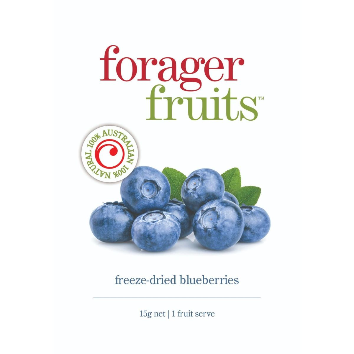 The Forager Food Co. - Freeze Dried Blueberries - 15g